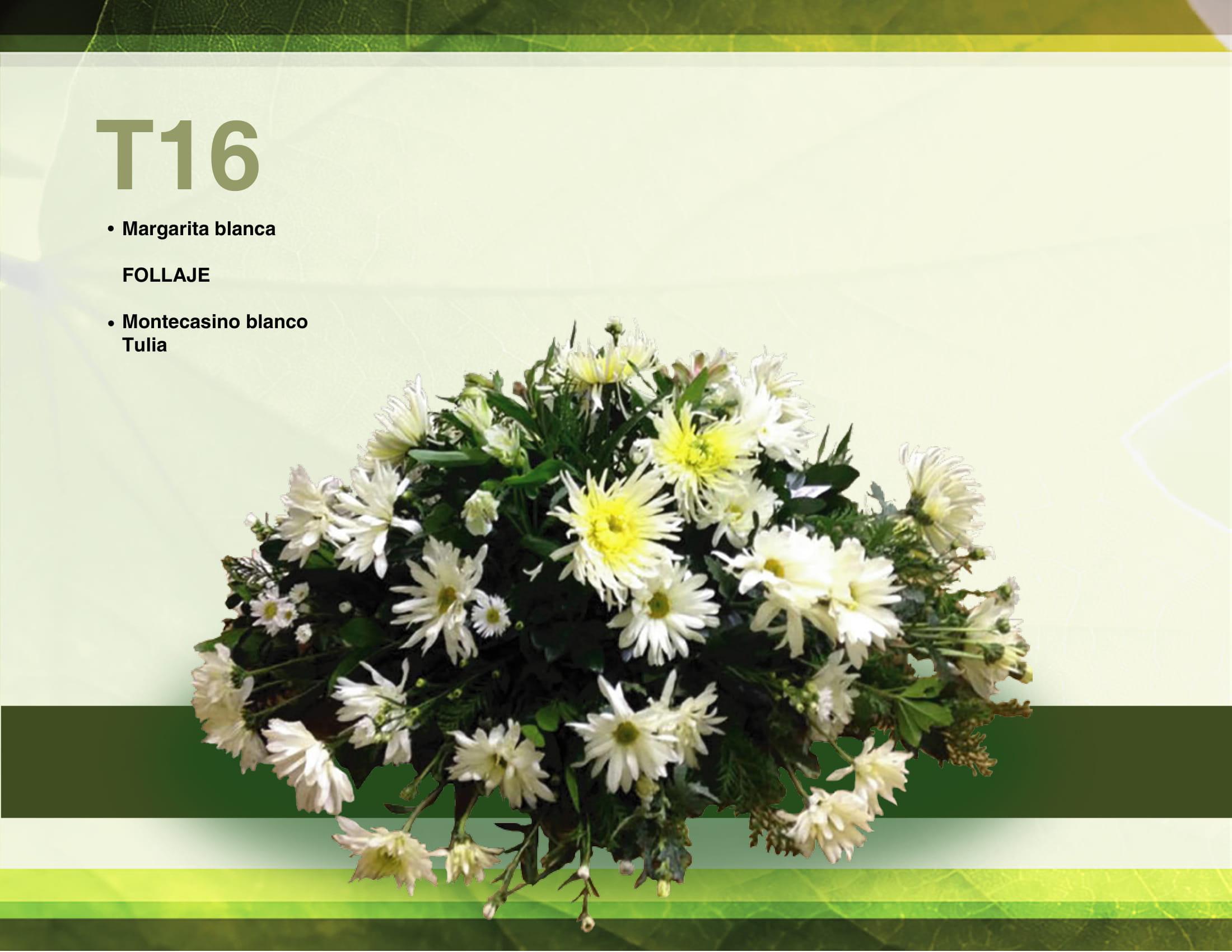 Arreglo Floral T16
